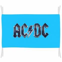 Флаг AC/DC Logo