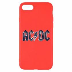 Чехол для iPhone 8 AC/DC Logo