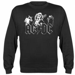 Реглан (світшот) AC/DC print