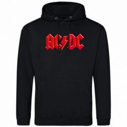 Мужская толстовка AC/DC Red Logo - FatLine