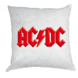 Подушка AC/DC Red Logo - FatLine