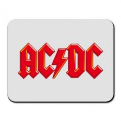 Коврик для мыши AC/DC Red Logo