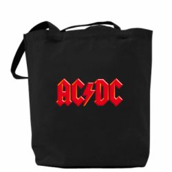 Сумка AC/DC Red Logo - FatLine