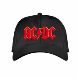 Детская кепка AC/DC Red Logo - FatLine