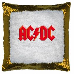 Подушка-хамелеон AC/DC Red Logo