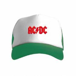 Детская кепка-тракер AC/DC Red Logo