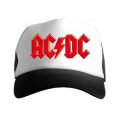 Кепка-тракер AC/DC Red Logo - FatLine