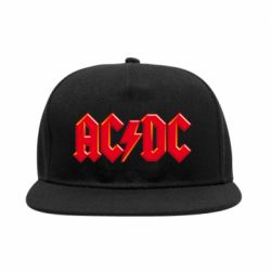 Снепбек AC/DC Red Logo - FatLine