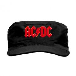Кепка милитари AC/DC Red Logo - FatLine