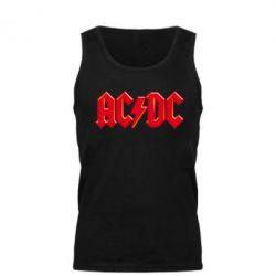Мужская майка AC/DC Red Logo