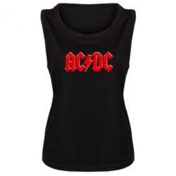 Женская майка AC/DC Red Logo