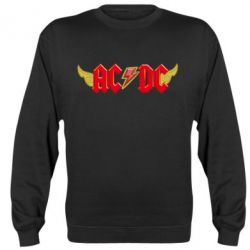 Реглан (свитшот) AC/DC с крыльями - FatLine