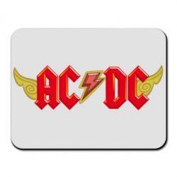 Коврик для мыши AC/DC с крыльями - FatLine