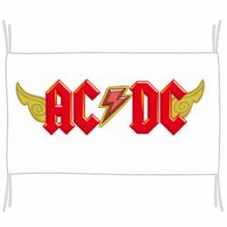 Прапор AC/DC з крилами