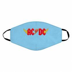 Маска для обличчя AC/DC з крилами