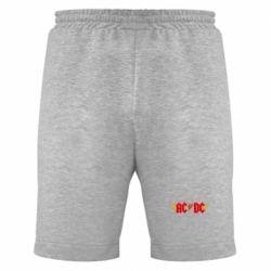 Мужские шорты AC/DC с крыльями - FatLine
