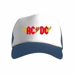 Дитяча кепка-тракер AC/DC з крилами