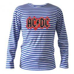 Тельняшка с длинным рукавом AC/DC Vintage - FatLine