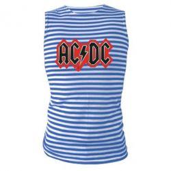 Майка-тельняшка AC/DC Vintage