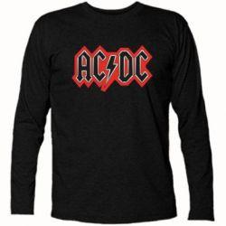 Футболка с длинным рукавом AC/DC Vintage - FatLine
