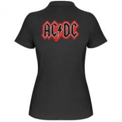 Женская футболка поло AC/DC Vintage - FatLine