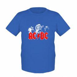 Детская футболка AC DC - FatLine