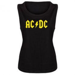 Женская майка AC DC - FatLine