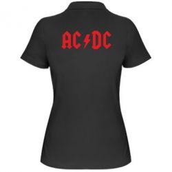 Жіноча футболка поло AC DC - FatLine