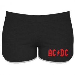 Женские шорты AC DC - FatLine