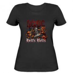 Жіноча футболка AC DC