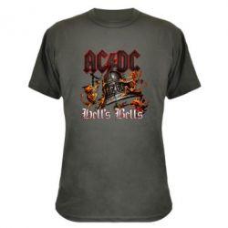 Камуфляжна футболка AC DC