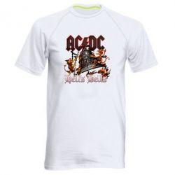 Чоловіча спортивна футболка AC DC