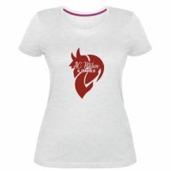 Жіноча стрейчева футболка AC Milan il diavolo