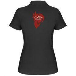 Жіноча футболка поло AC Milan il diavolo