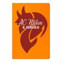 Блокнот А5 AC Milan il diavolo