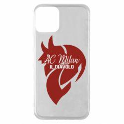 Чохол для iPhone 11 AC Milan il diavolo