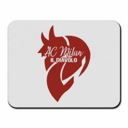 Килимок для миші AC Milan il diavolo