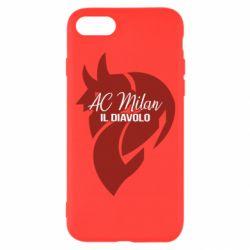Чохол для iPhone 8 AC Milan il diavolo