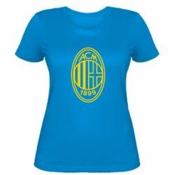 Жіноча футболка AC Milan logo