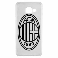 Чохол для Samsung A3 2016 AC Milan logo