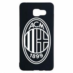Чохол для Samsung A5 2016 AC Milan logo