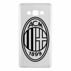 Чохол для Samsung A7 2015 AC Milan logo