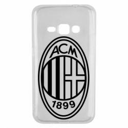 Чохол для Samsung J1 2016 AC Milan logo