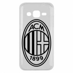 Чохол для Samsung J2 2015 AC Milan logo