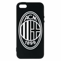Чохол для iphone 5/5S/SE AC Milan logo
