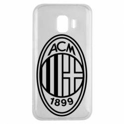 Чохол для Samsung J2 2018 AC Milan logo