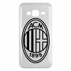 Чохол для Samsung J3 2016 AC Milan logo