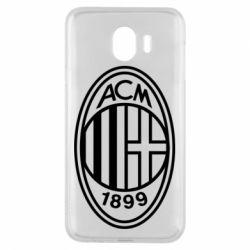 Чохол для Samsung J4 AC Milan logo