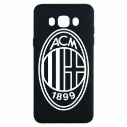 Чохол для Samsung J7 2016 AC Milan logo