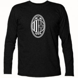 Футболка з довгим рукавом AC Milan logo